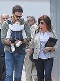Tiffani Thiessen Returns to Her White Collar Day Job With Baby Harper