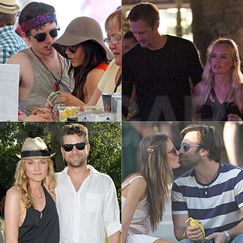 2011 Celebrity Couples at Coachella