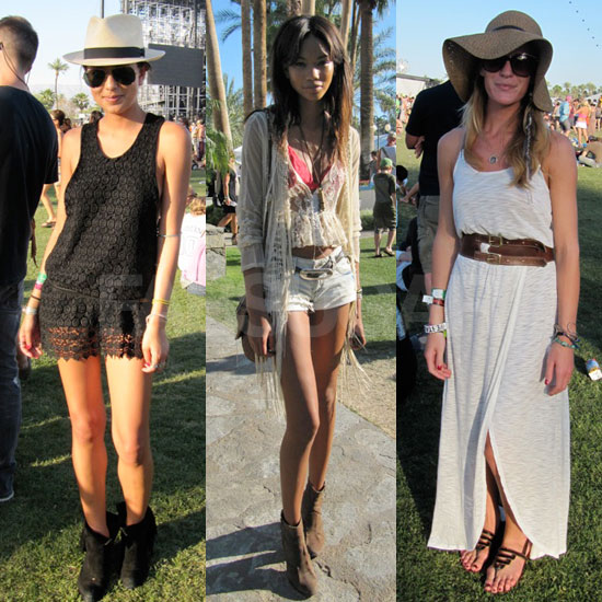 Coachella Street Style 2011: Chanel Iman and More