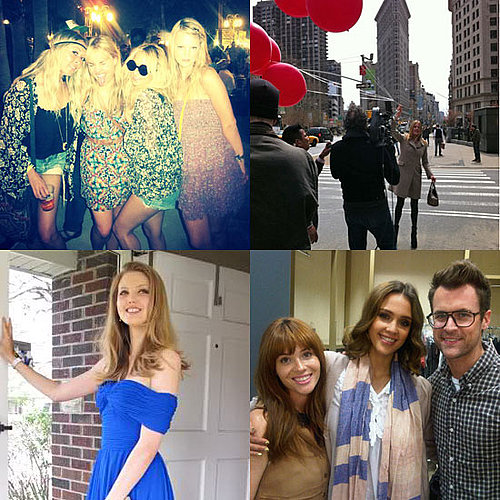 Celebrity Twitter Pictures: Jessica Alba, Nicole Richie, and More