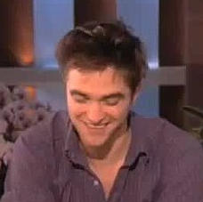Video of Robert Pattinson Talking Tai on Ellen