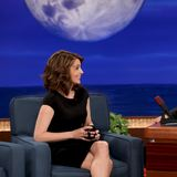 Video: Pregnant Tina Fey Shares Sonogram Photo on Conan O'Brien