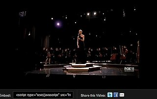"Video of Gwyneth Paltrow Performing Adele's ""Turning Tables"" on Glee"
