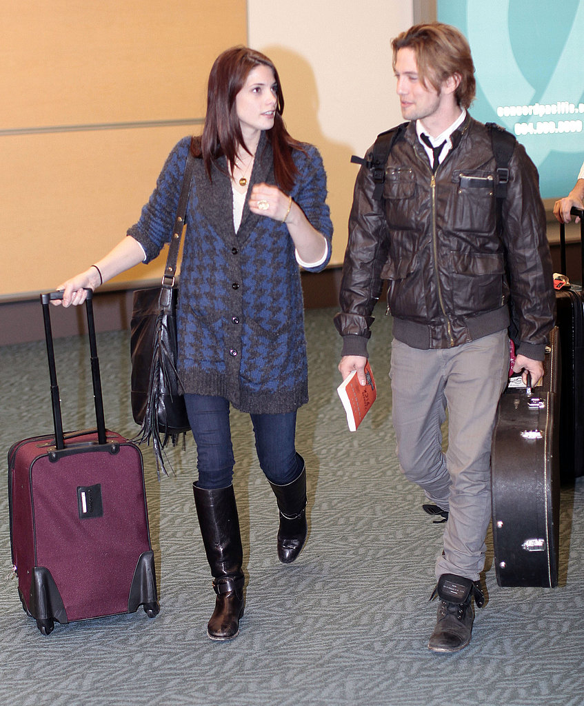 Ashley Greene and Jackson Rathbone Touch Down to Wrap Up Breaking Dawn