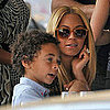 Pictures of Jay-Z, Beyonce Knowles, and Julez Smith