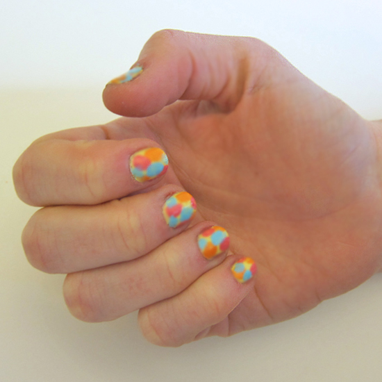 Easy Impressionist Easter Egg Nail Art Tutorial