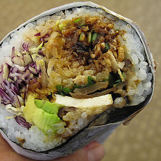Sushirrito: Cross Between Sushi and a Burrito