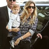 Gisele Bundchen Brings Precious Baby Benjamin on a Fashion Adventure