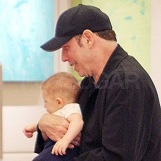 Pictures of John Travolta's Baby Son Benjamin in LA