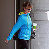 Ellen Pompeo Wears Bright Blue Adidas Supernova Jacket