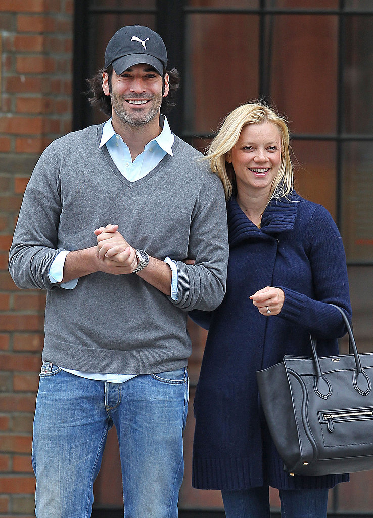 Amy Smart Celebrates Her Engagement and Earth Day With Her Fiancé