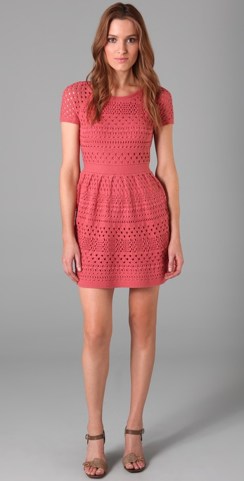 Tibi Crochet Dress ($341)