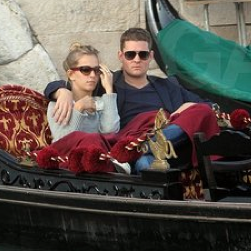 Michael Bublé and Luisana Lopilato on Their Honeymoon in Venice