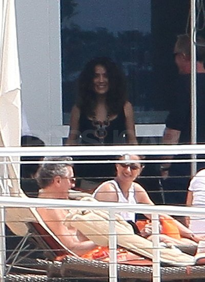 Salma Hayek Enjoys an Easter Getaway With Valentina and Shirtless Francois-Henri