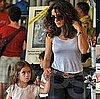 Salma Hayek on Vacation in Miami With Francois-Henri and Valentina Pinault