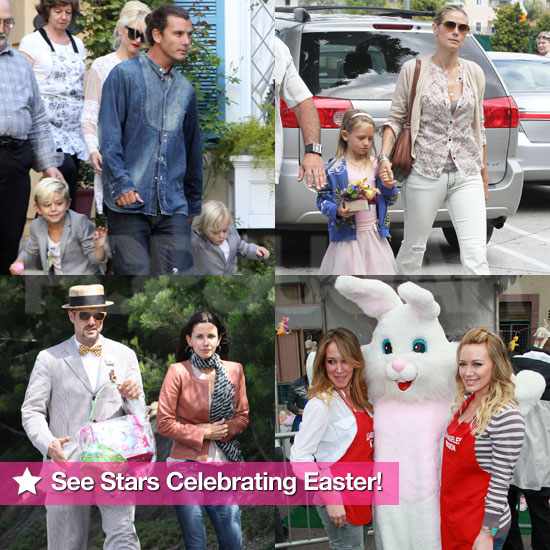 Celebrities on Easter