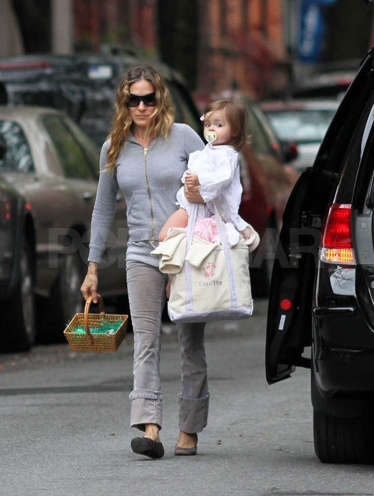 Sarah Jessica Parker Gets Back to City Life With Little Loretta