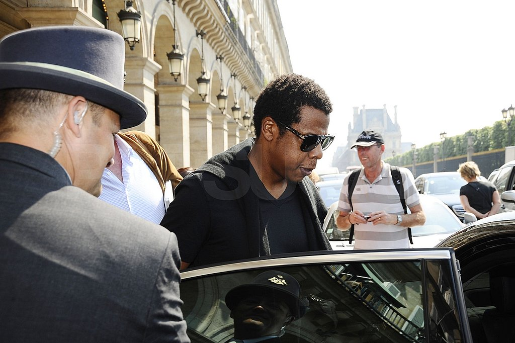 Jay-Z and Beyoncé Bid Farewell to Paris