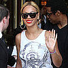 Pictures of Jay-Z and Beyonce Knowles Leaving Paris
