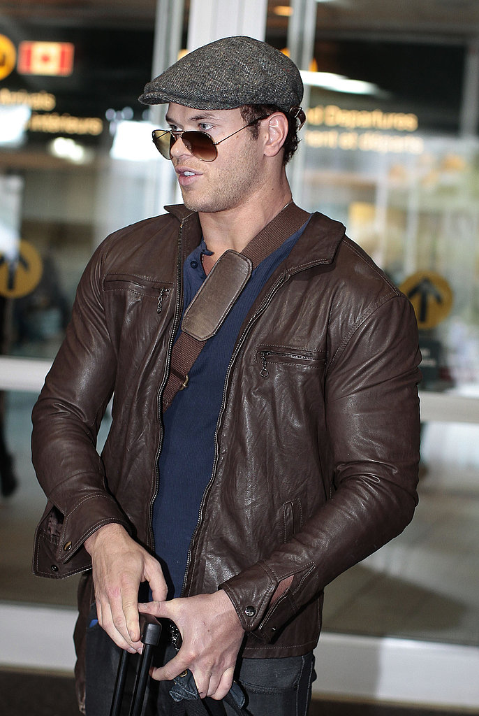 Ashley, Kellan, and Jackson Return to Vancouver For Breaking Dawn