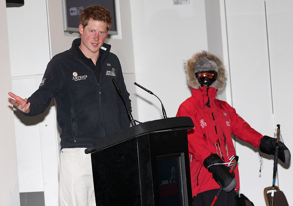 Prince Harry Plans Royal Wedding Afterparty and Reunites With North Pole Team!