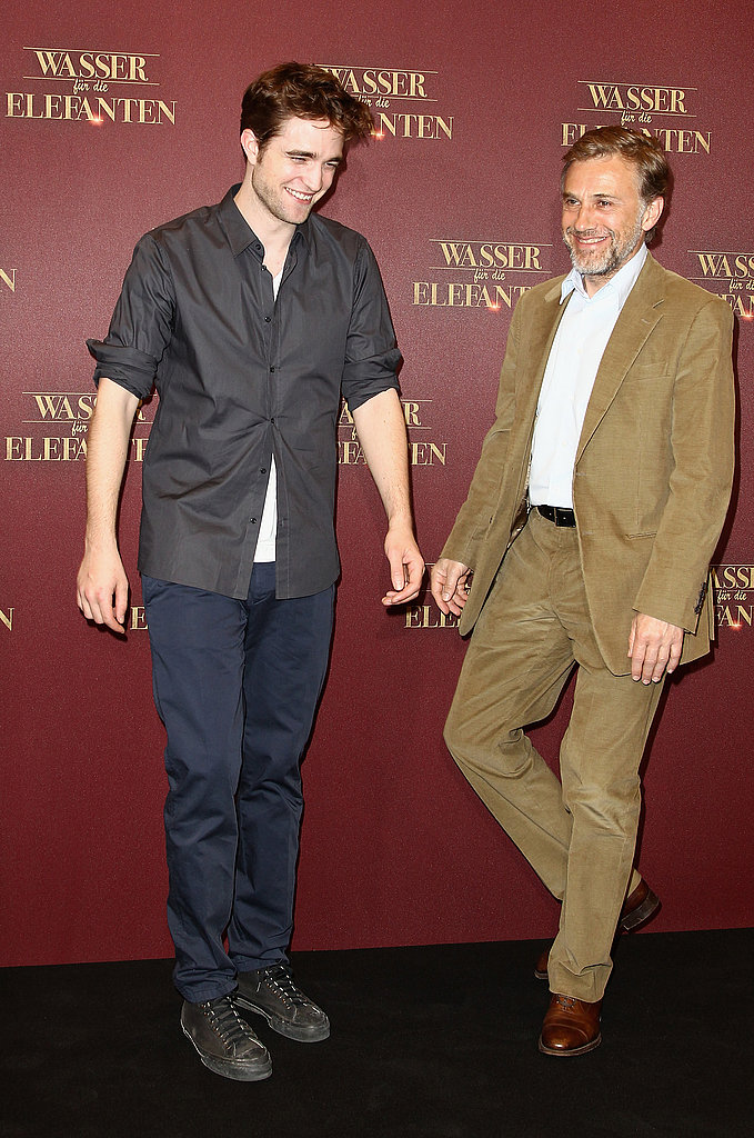 Robert Pattinson and Christoph Waltz Show Off Water For Elephants in Berlin