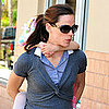 Jennifer Garner and Violet Pictures