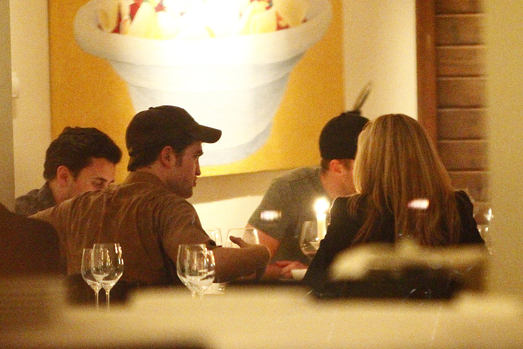 Robert Pattinson Preps For a Water For Elephants Press Tour With Dinner