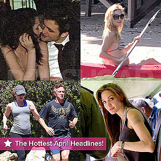Angelina Jolie, Robert Pattinson, Pregnant Kate Hudson in a Bikini, and More in PopSugar's April Roundup!