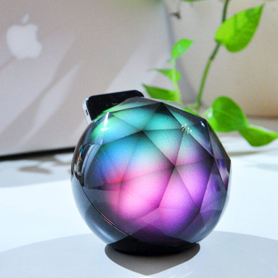The Black Diamond Is More Than Just an iPhone Dock
