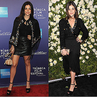 Julia Restoin-Roitfeld Wears All Black to Tribeca Film Festival: See Why Her Head To Toe Noir Looks Work