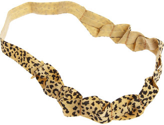 Jennifer Ouellette Leopard Headband ($45)