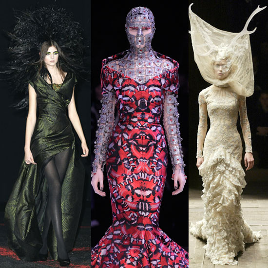 Alexander McQueen Savage Beauty Exhibit