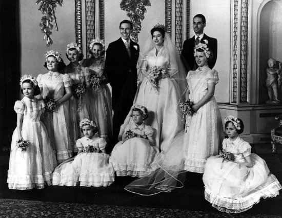 Wedding of Britain&#039;s Princess Margaret and Anthony Armstrong-Jones