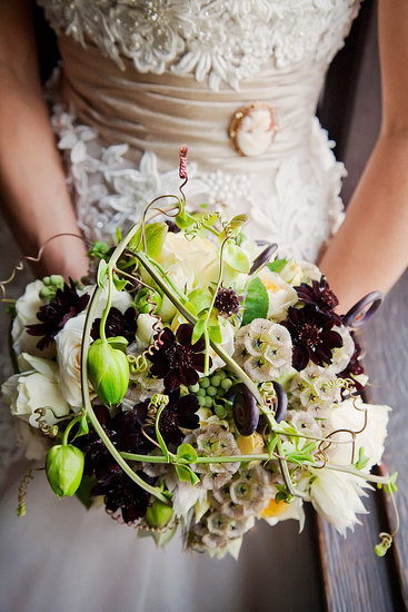 The florist Svenja found the most unusual materials.