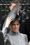 Zara Phillips in a Philip Treacy hat