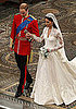 Close-Ups of Kate Middleton&#039;s Alexander McQueen Wedding Dress by Sarah Burton