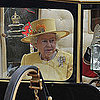 Pictures of The Queen at Royal Wedding