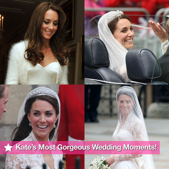 See Kate Middleton's Most Gorgeous Royal Wedding Moments!