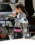 Katie Holmes Works Out Early For a Special Baked Treat