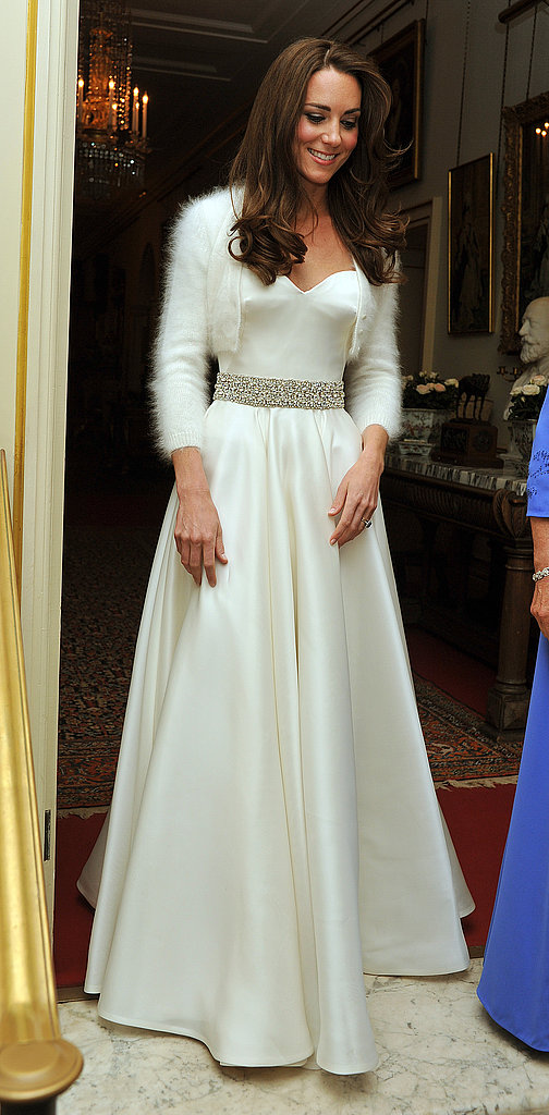 Kate Middleton Debuts Her Second Sarah Burton For McQueen Gown!
