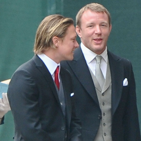 Guy Ritchie Goes Stag For the Royal Wedding