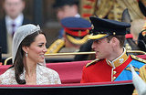 Kate and William's Procession to Buckingham Palace!
