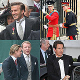 David Beckham, Prince Pavlos of Greece, Guy Ritchie, and More Hot Guys at the Royal Wedding!