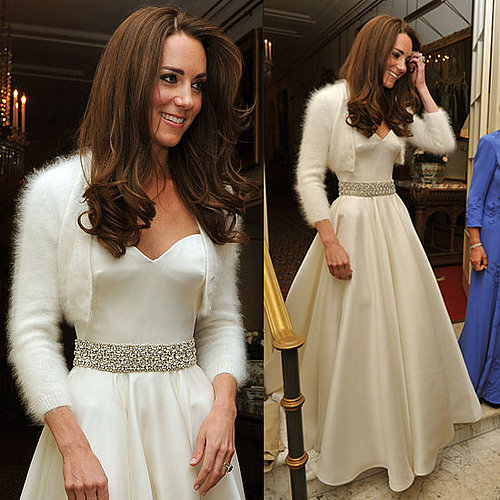 Kate Middleton Second Dress by Sarah Burton For Alexander McQueen