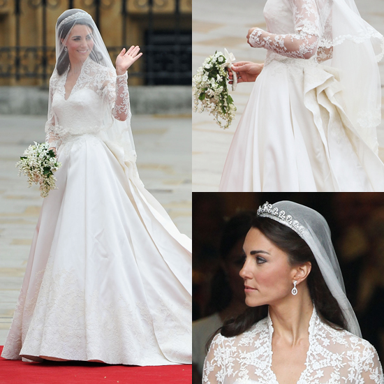 Kate Middleton's Alexander McQueen Wedding Dress From All Angles!