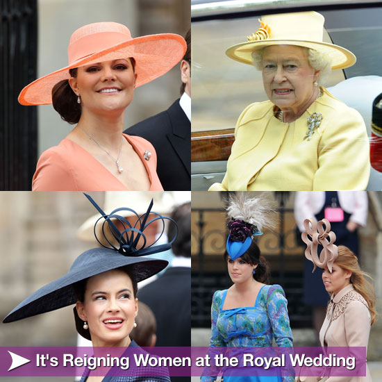 It's Reigning Women at the Royal Wedding