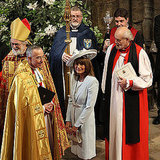 "Once inside the Abbey, one of the officiating bishops said to Carole Middleton, mother of the bride, ""Everything is fine, everyone is fine, and all will be fine.""  She smiled and said thanks."