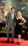 Robert and Reese Smile Big in Barcelona at Water For Elephants