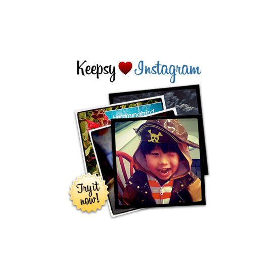 Keepsy Instagram Photo Book ($30)